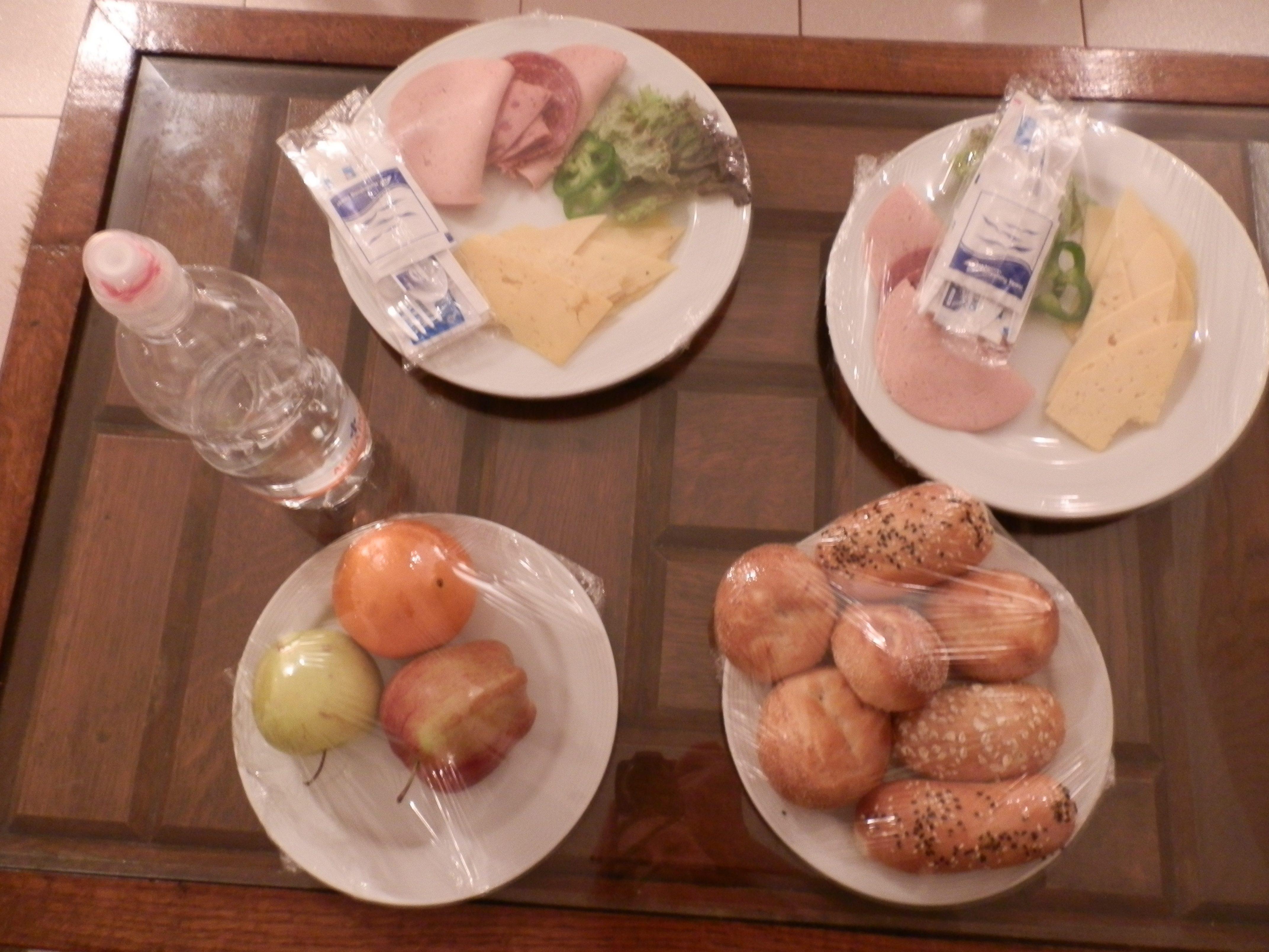 cibo in camera