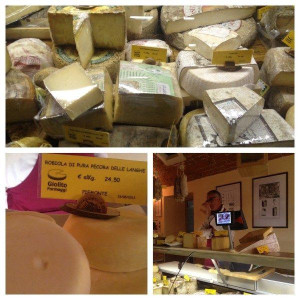 assaggi di formaggio
