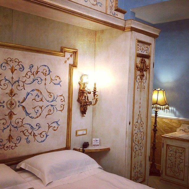 camera all'hotel romanico