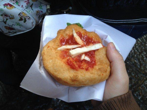 Pizza Fritta I Decumani