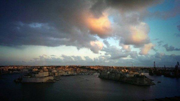 Tramonto a Malta
