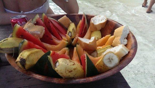 frutta per il pic nic