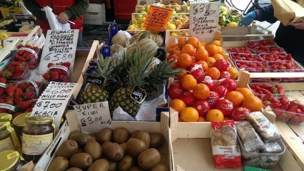 frutta per centrifughe