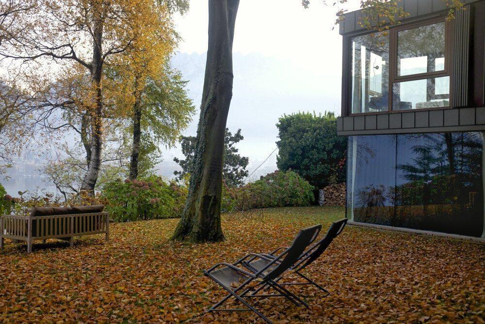 Dormire Su Una Casa Sull Albero Davanti Al Lago Di Como