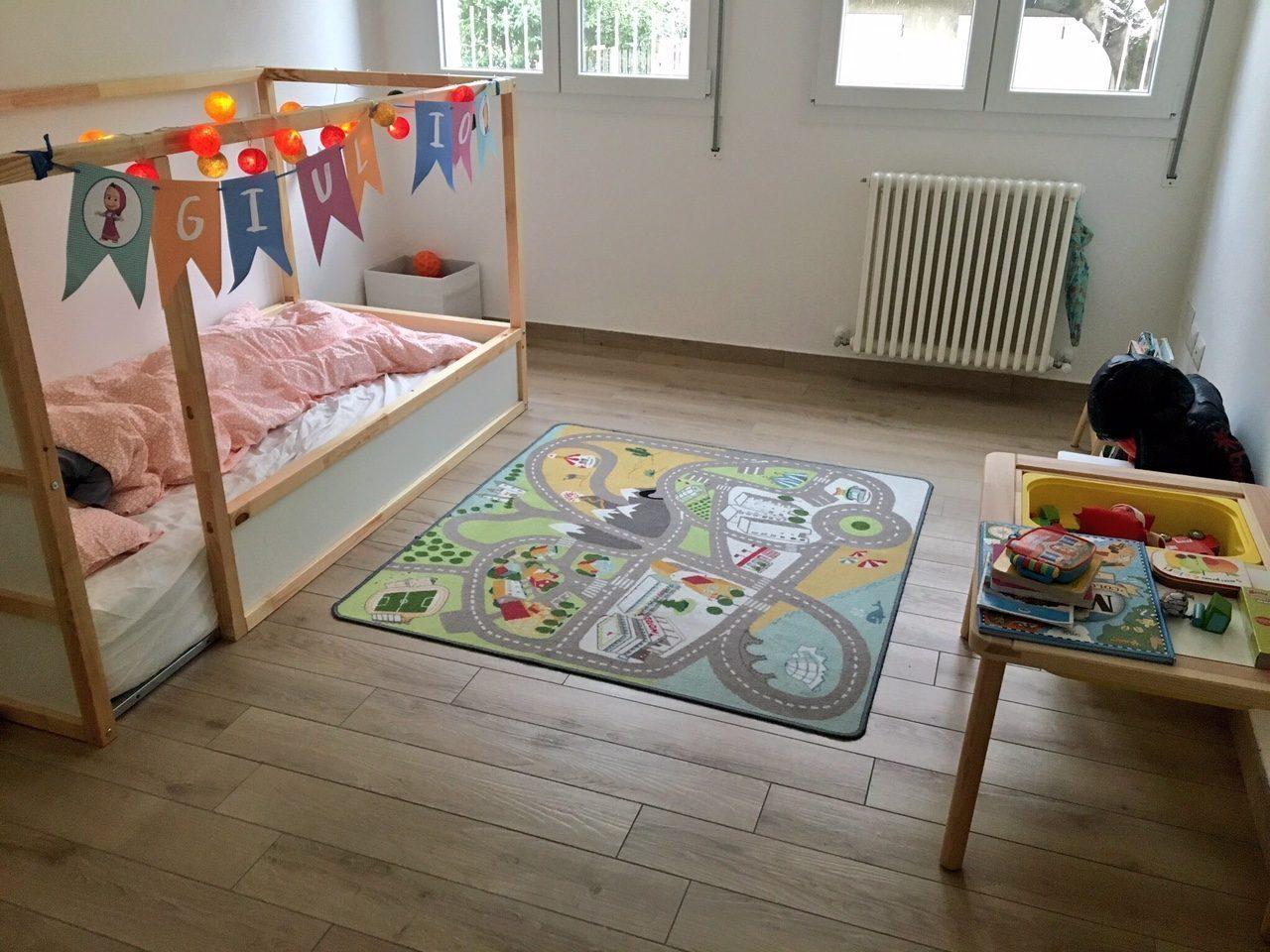 Letto montessoriano per bambini come crearlo con ikea a basso costo for Letti per ragazzi ikea