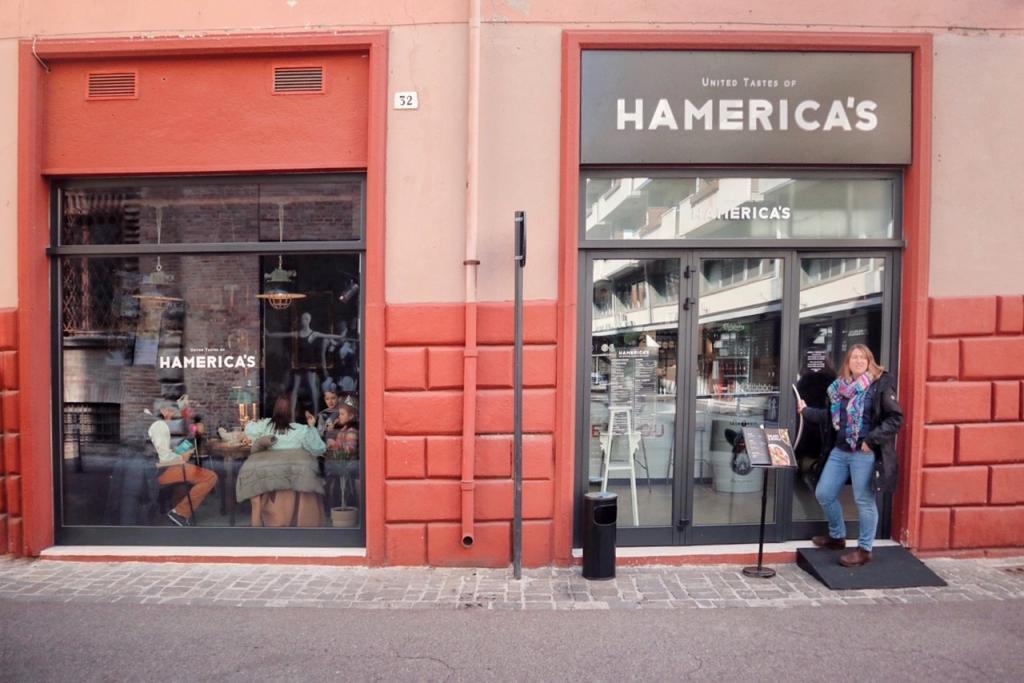 Hamerica's Rimini ingresso