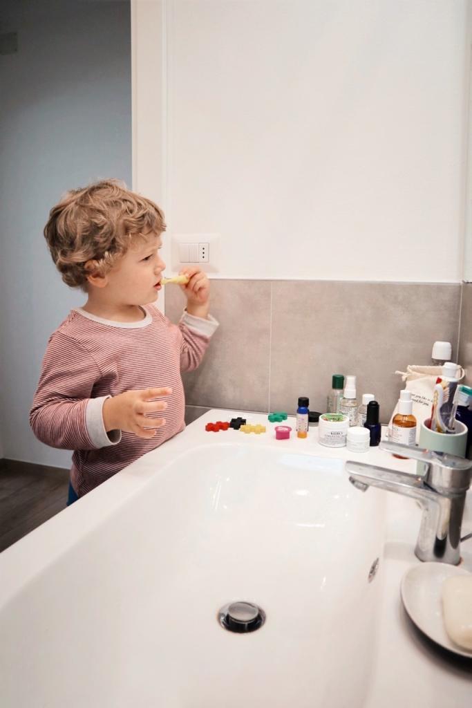 Lavaggio denti