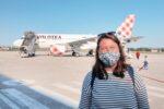 Federica aereo Volotea per la Sicilia